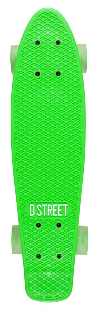 D Street Polyprop Neon Flash Cruiser