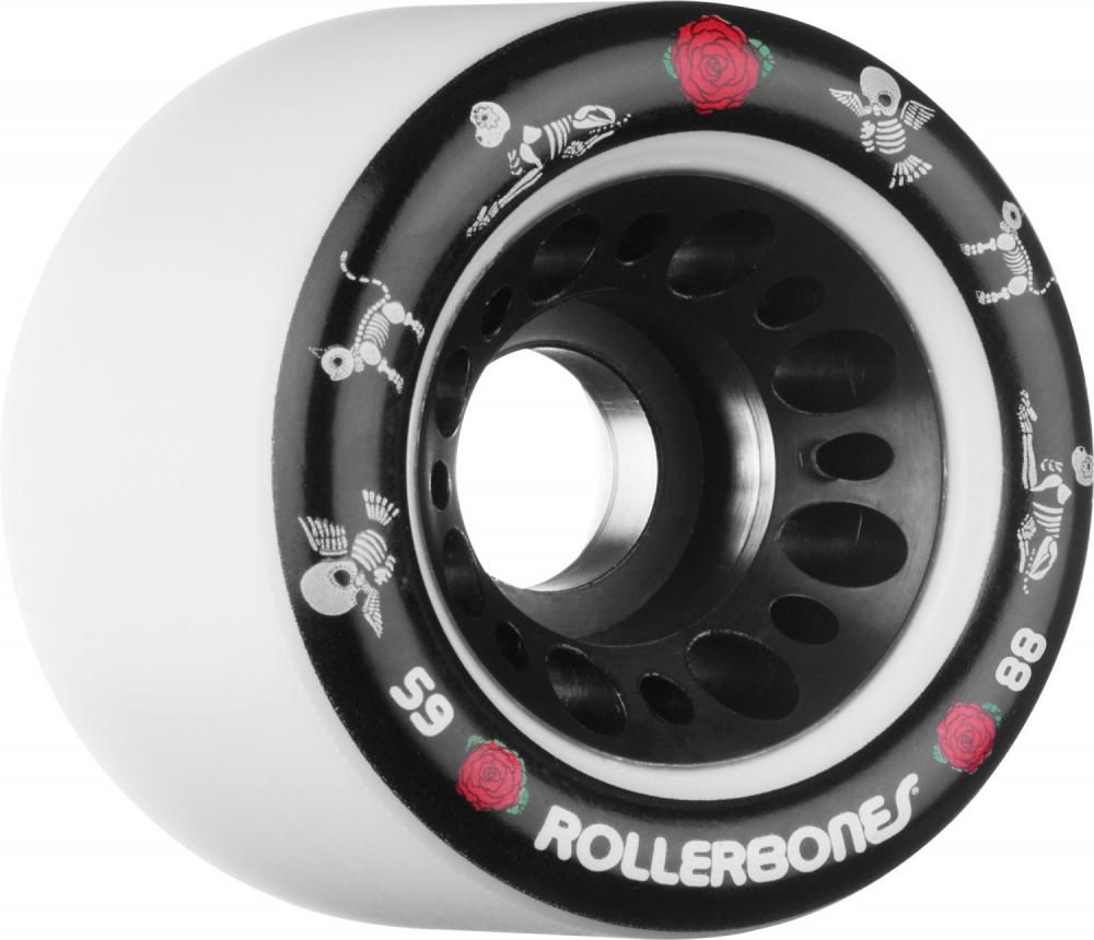 Knee Scooter For Sale >> Rollerbones Quad Wheels Pet Day of the Dead 59mm