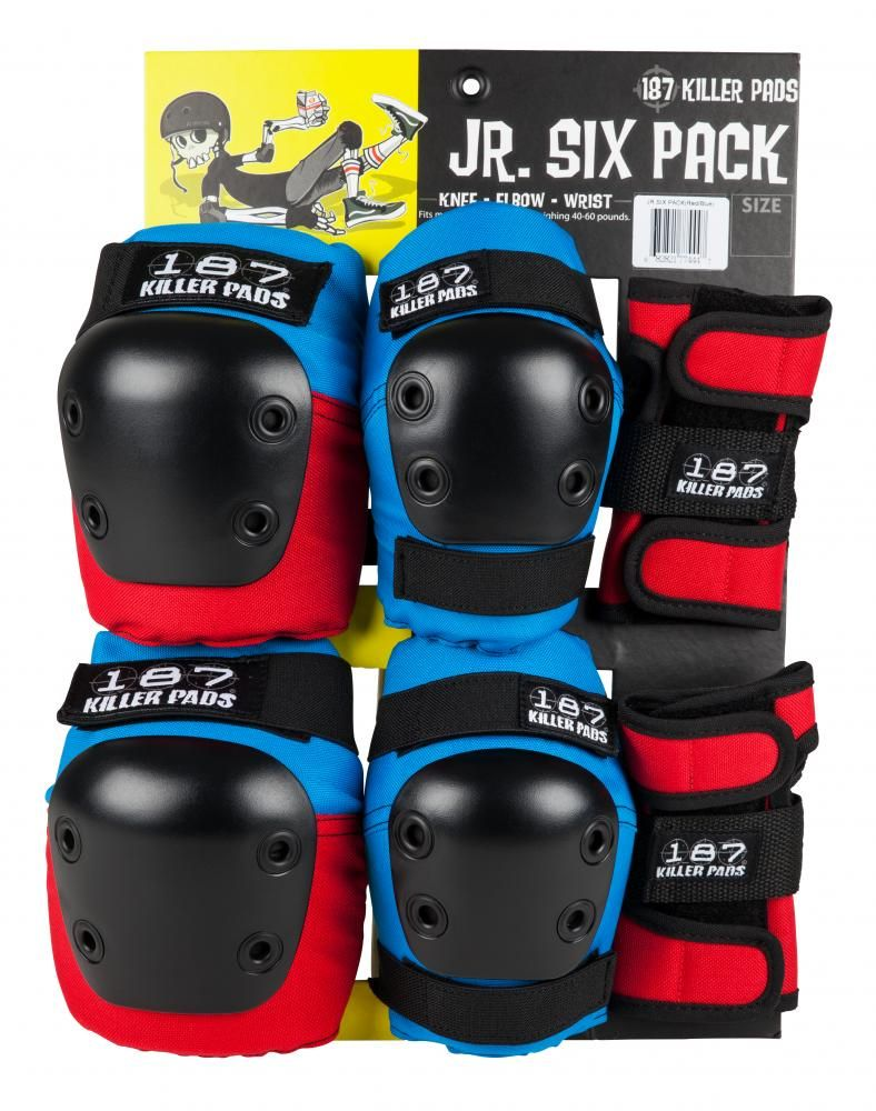 187 Junior Roller Derby Elbow /& Knee Pad Set LAST ONE *** FREE SHIPPING ***