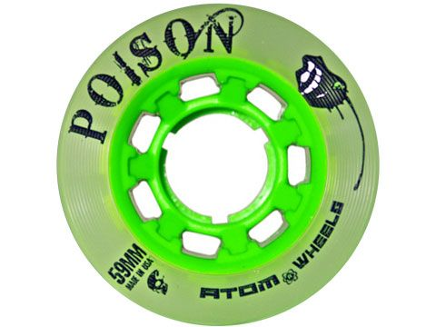 4 Atom poison wheels 62mm Slim