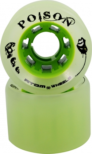 4 Atom poison wheels 62x44mm (wide) 84a