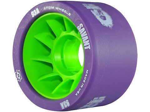 Atom Savant Derby Wheels - Purple 93A