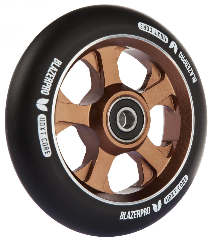 Blazer XT110 wheel with abec 9 bearings Black