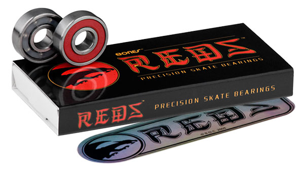 bones reds half set - 8 bearings = 4 wheels