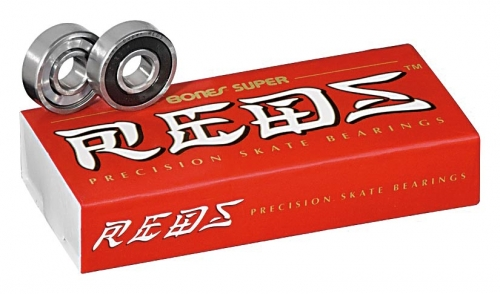bones SUPER reds full set 16 (8 wheels)