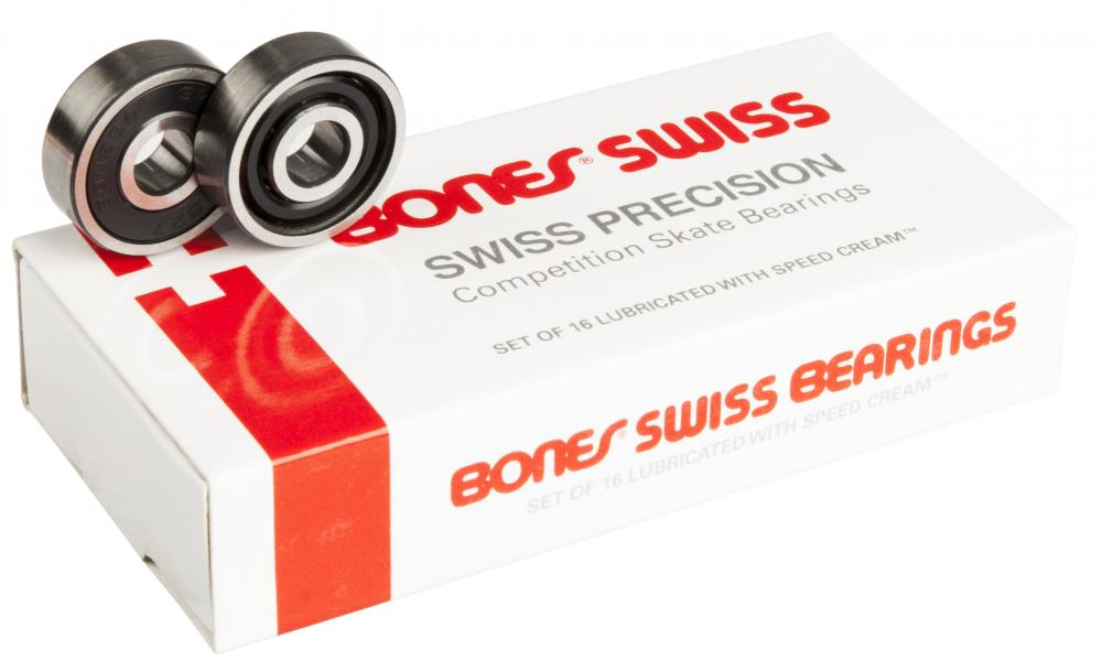 Bones Swiss Bearings Bones Swiss 627 7mm (16 Pack)