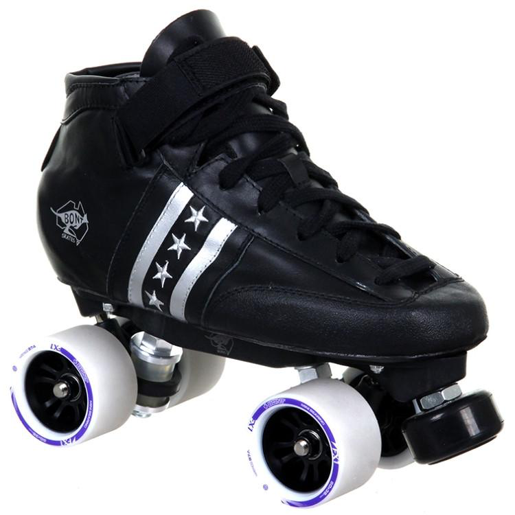 Bont Quadstar Derby Skates Package