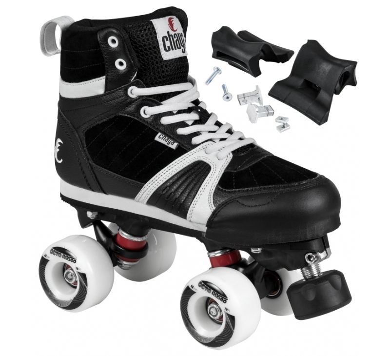 Chaya Park Skates - Jump (Black or Red) including grind blocks