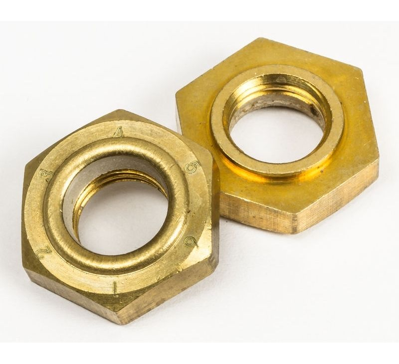 Chaya Replacements - King Pin Action Lock Nuts (Brass)