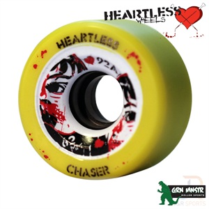 Heartless Wheels Chaser 92A 62mm (bearings deal available)