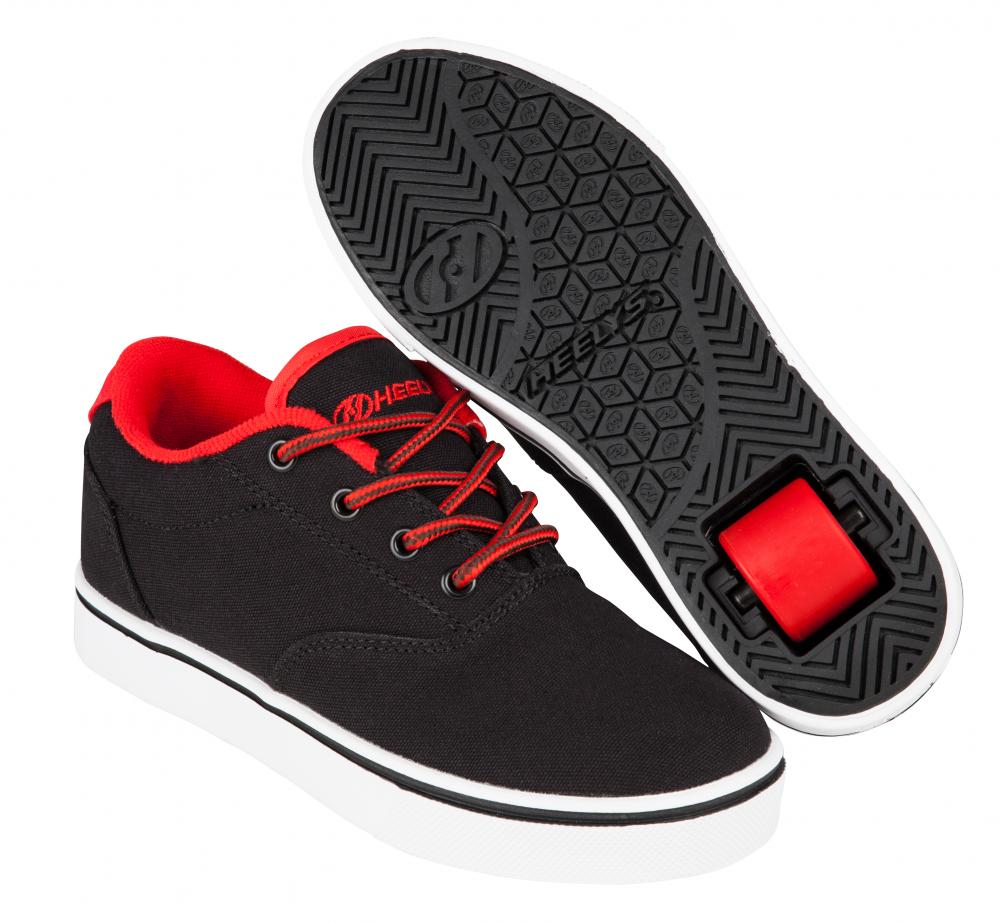 HEELYS LAUNCH BLACK/RED