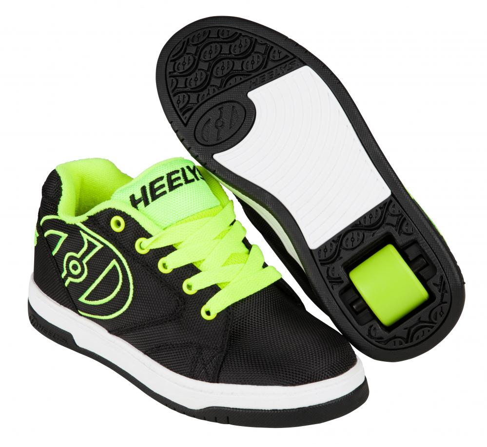 HEELYS PROPEL 2.0 BLACK/YELLOW