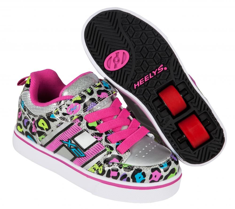 Knee Scooter For Sale >> HEELYS X2 - BOLT - Silver Pink