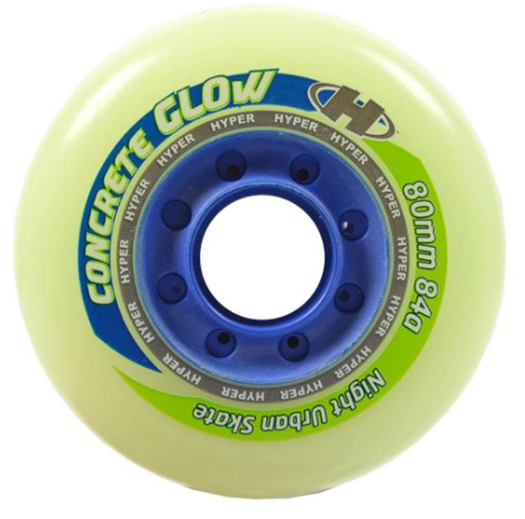 Hyper Concrete SL Wheels (4 pk) Glow/Blue