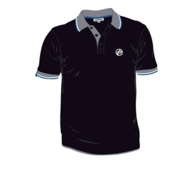 Powerslide Clothing - Mens Black Polo