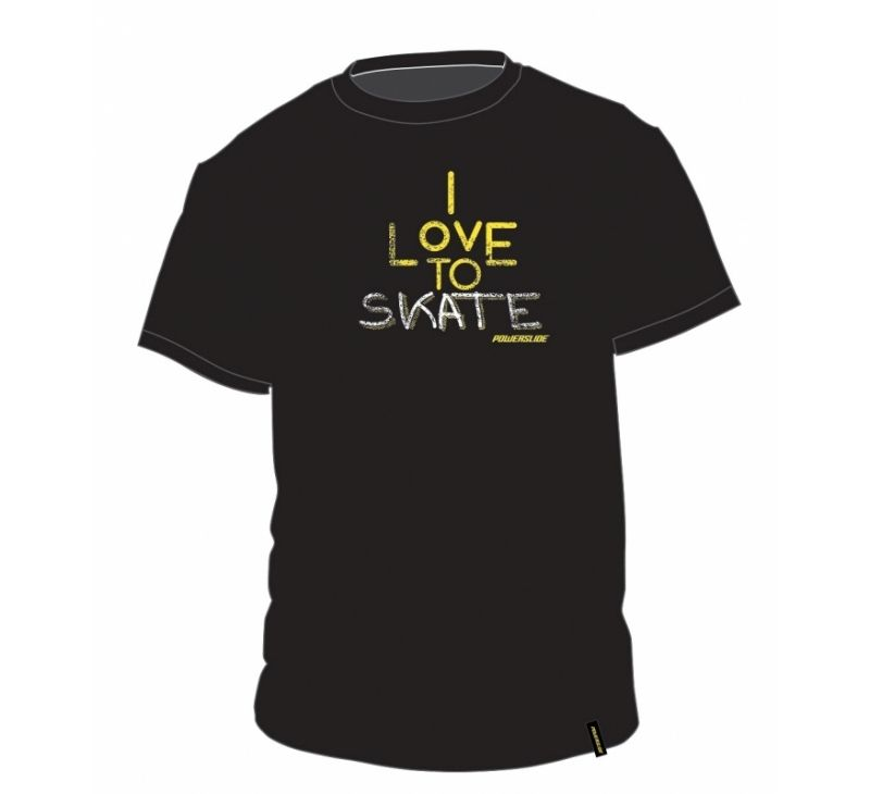"Powerslide Clothing - Mens ""Love to Skate"" T-Shirt"