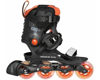 POWERSLIDE DOOP SKATES Orange Sunset 80