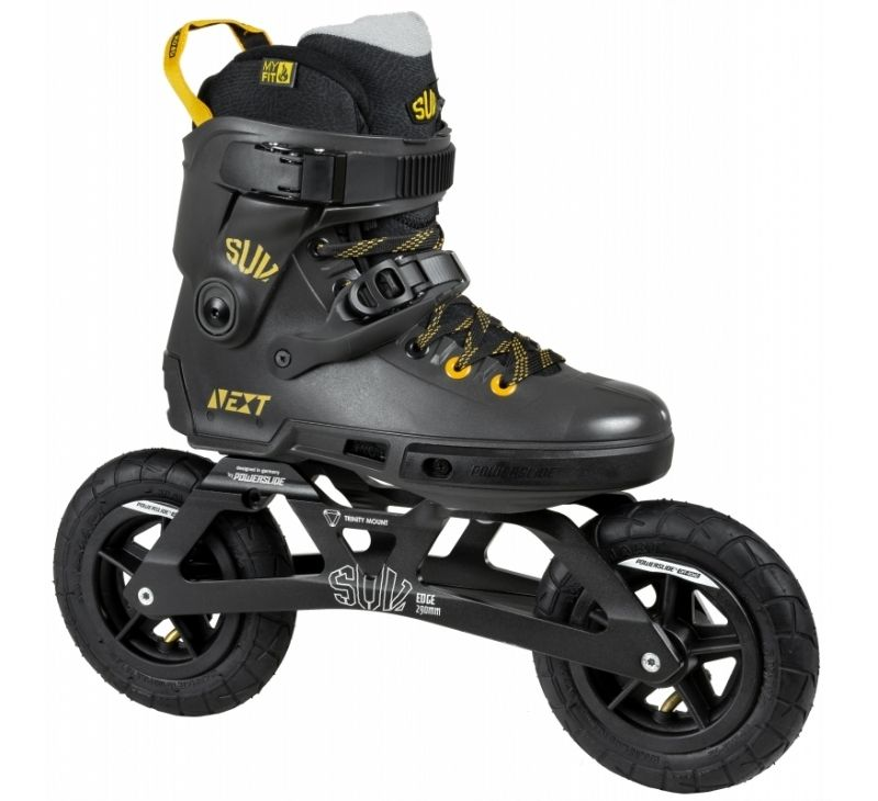 Powerslide World Cup Trinity Review: POWERSLIDE Next EDGE SUV 150 Off Road Skates
