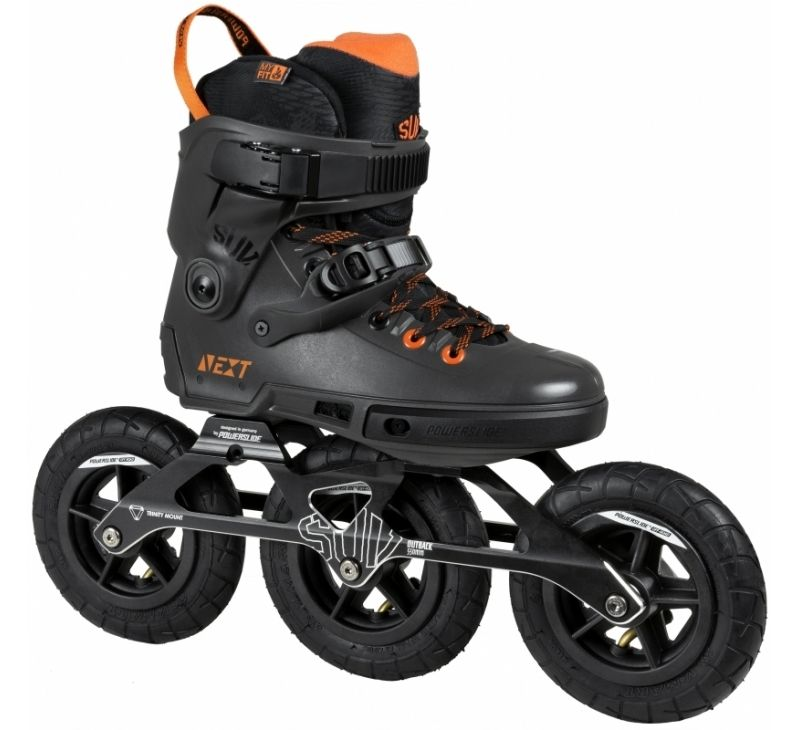 Powerslide Quad Skates: POWERSLIDE Next Outback SUV 150 Off Road Skates