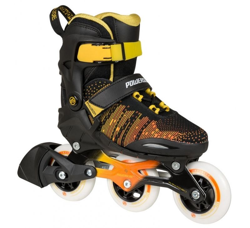 POWERSLIDE PHUZION KIDS SKATES Galaxy Yellow (Adjustable)