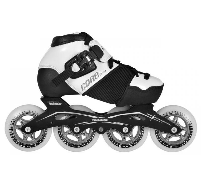 POWERSLIDE SPEED SKATES Icon Kids adjustable, USA Specs, Size 33-36