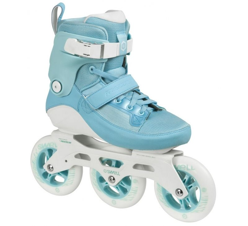 Powerslide Swell 125mm Skates - Womens Aqua
