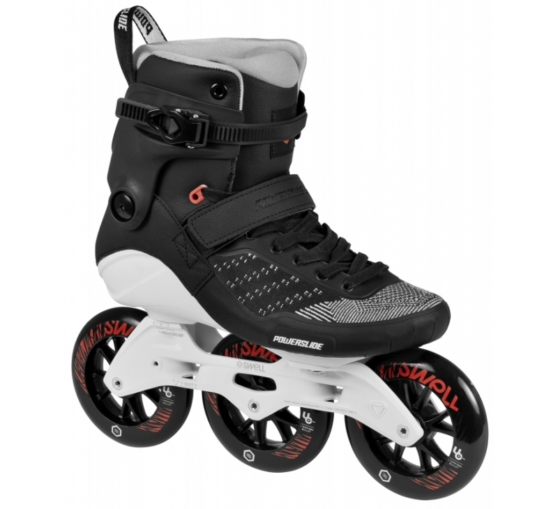 POWERSLIDE SWELL SKATES - Metalic black 110