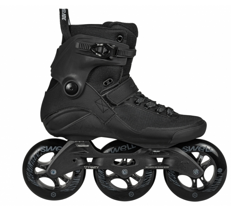 POWERSLIDE SWELL SKATES - Triple Black 110