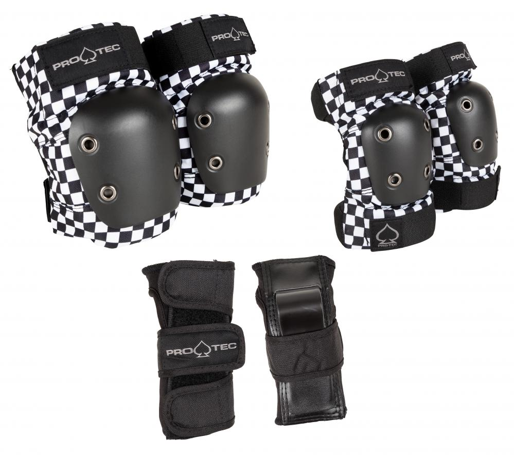Pro-Tec Pads Street Gear Junior 3 Pack Checker