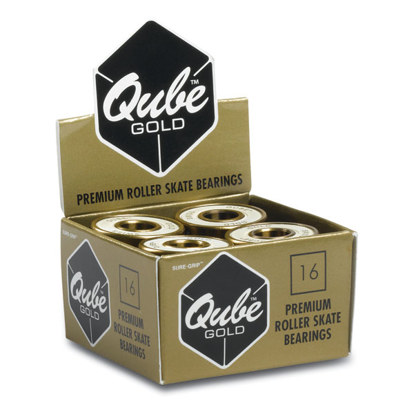 Qube Swiss Gold bearings 8mm