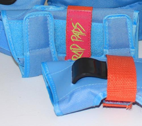 Rad Pads Blue  Wrist Guards