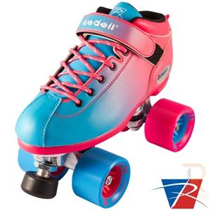 Riedell Dart Ombre skates
