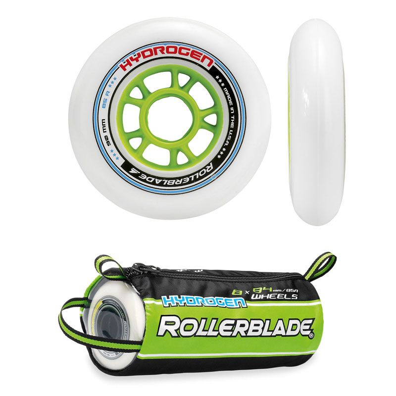 Rollerblade Hydrogen Wheels - 100mm / 85A - (8 pk)