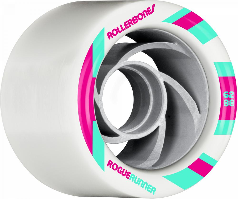 Rollerbones Quad Wheels Rogue Runner Signature 62mmx88a