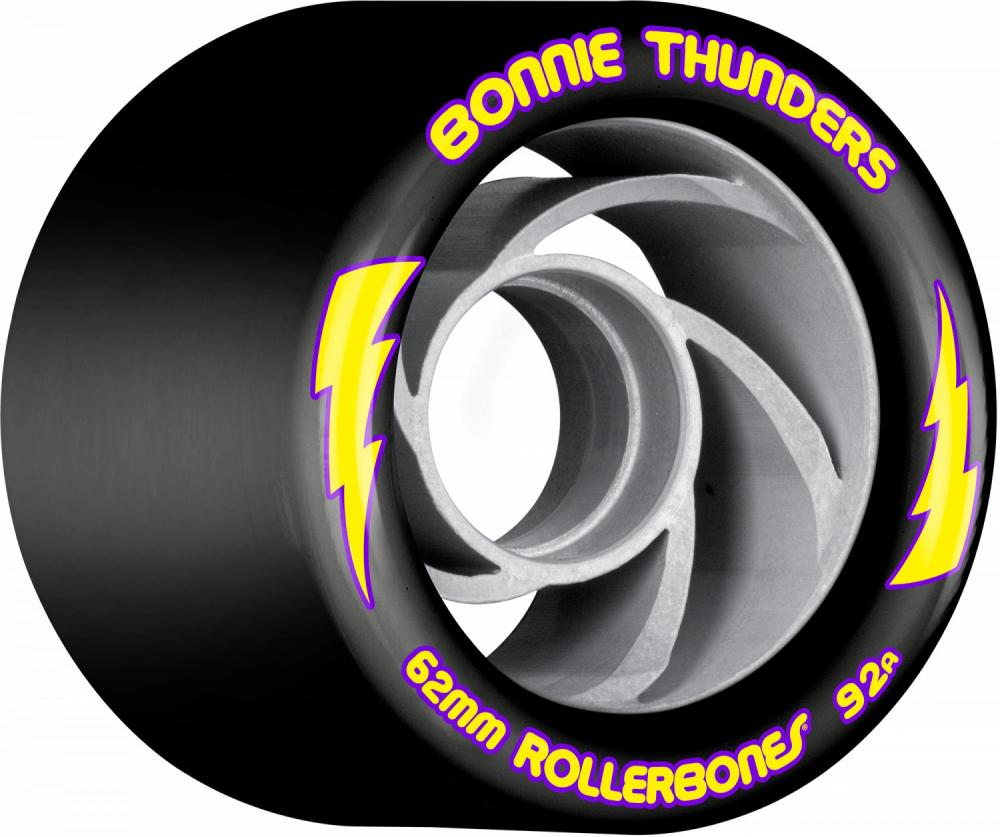 Rollerbones turbo  Quad Wheels Bonnie Thunders Signature 62mmx92a