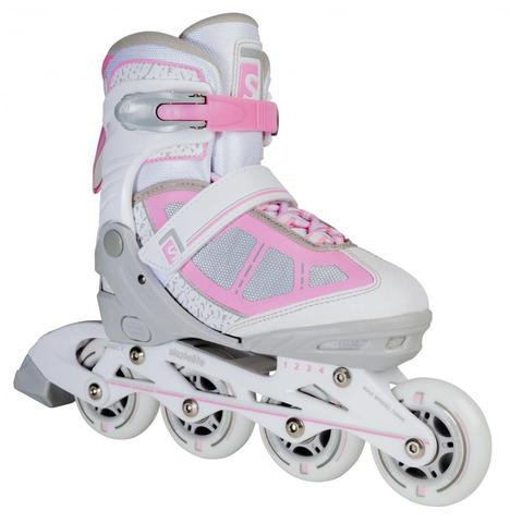 Skatelife Inline Skates lava adjustable grey/pink