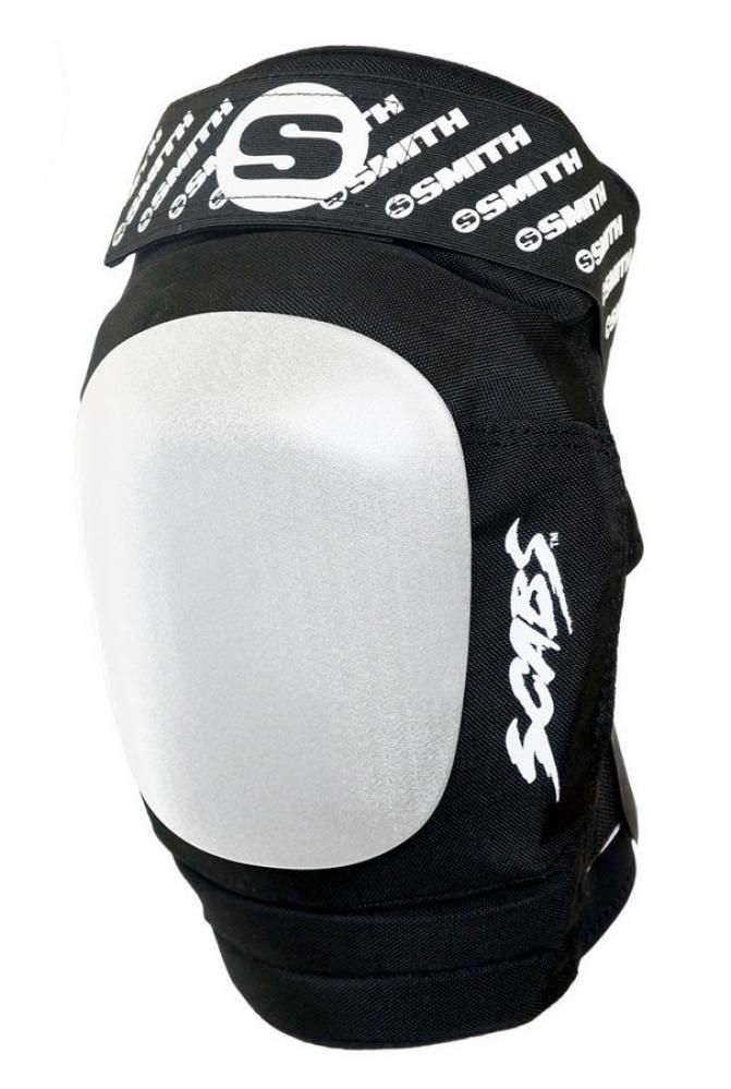 Smith scabs knee pads Elite Black/White- Xsmalll