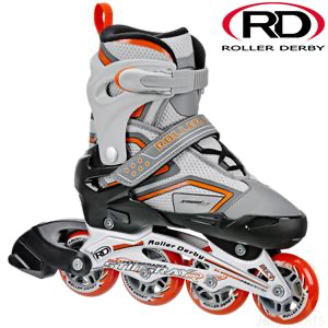 Stingray adjustable skates Grey