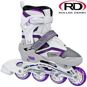 Stingray adjustable skates White