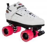 Sure Grip Quad Skates - Rebel Derby White