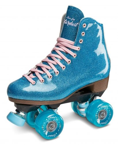 Sure-Grip Stardust Glitter skates- UK5 AND UK6.5