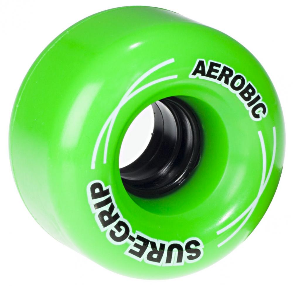 Suregrip Quad Wheels Aerobic 85A (8 pack) Green
