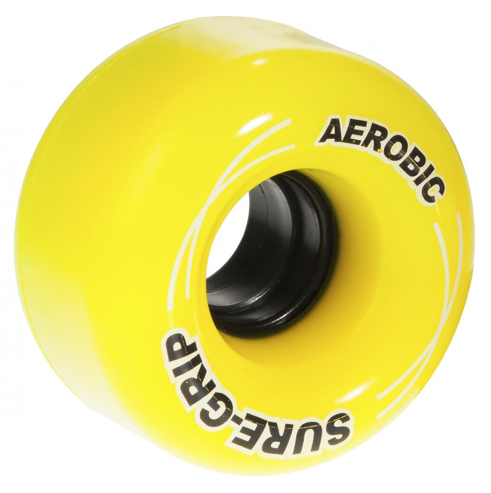 Suregrip Quad Wheels Aerobic 85A (8 pack) Yellow