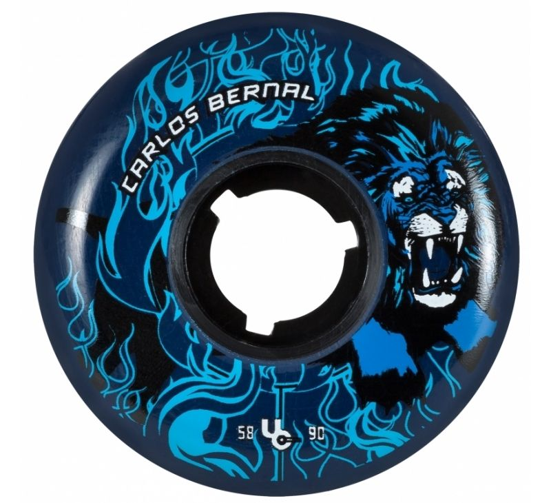 UNDERCOVER WHEELS Carlos Bernal Circus 2nd Ed. 58mm/90a, 4-Pack