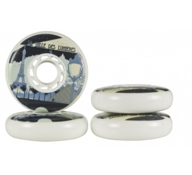 Undercover Wheels - Team PB Paris 76mm/90A (4pk)